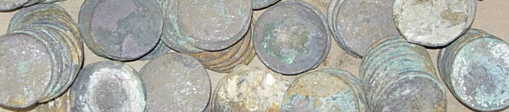Silver coins from the deep